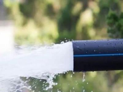 PE给水管突然漏水和破裂紧急临时快速修复