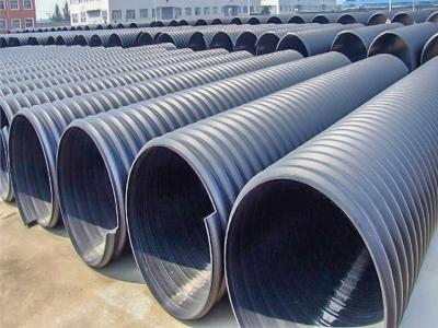 PE管,聚乙烯管,钢带增强聚乙烯波纹管