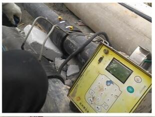 PE管与电熔管件的施工