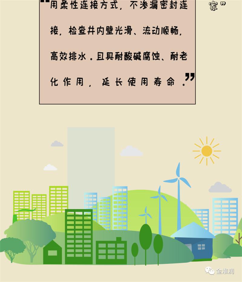 品质之管 国货当道   城市的生命线 金淮润管材